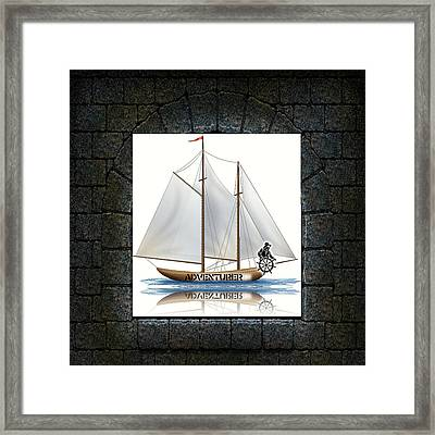 Angle Of View Framed Print by Museum Quality Prints -  Trademark Art Designs