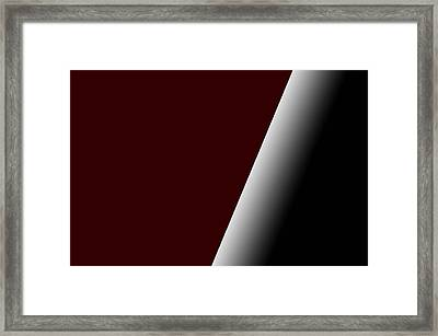 Framed Print featuring the photograph Angled Moment by Renee Anderson