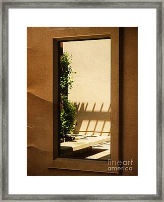 Angled Reflections2 Framed Print