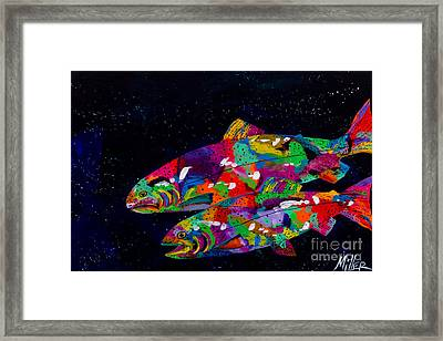 Anglers Dream Framed Print by Tracy Miller