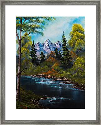 Fisherman's Retreat Framed Print by C Steele