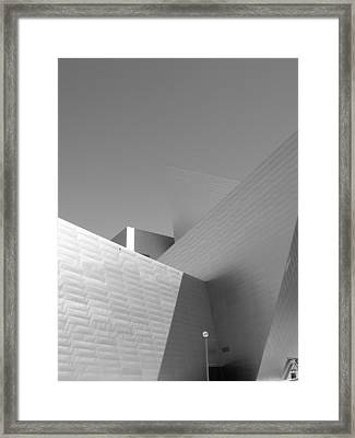 Angles Framed Print by Barbara Bardzik