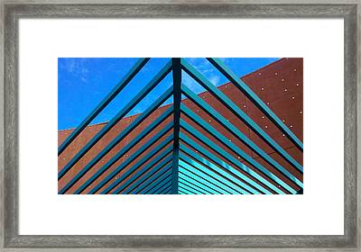 Framed Print featuring the photograph Angles by Richard Stephen