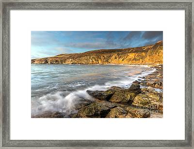 Anglesey Bay Framed Print by Adrian Evans