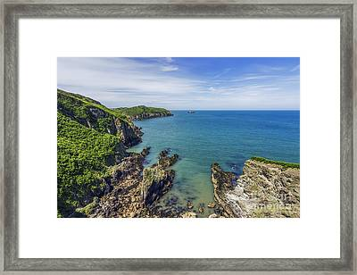 Anglesey Coast Framed Print by Ian Mitchell
