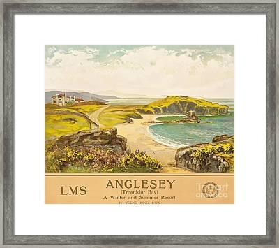Anglesey Framed Print by Henry John Yeend King