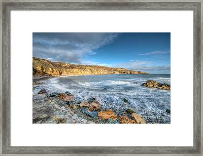 Anglesey Seascape Framed Print by Adrian Evans