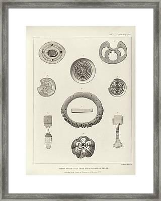 Anglo-saxon Artefacts Framed Print