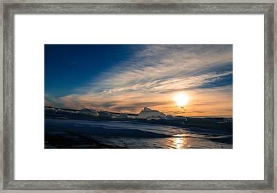 Angostura Ice 2 Framed Print