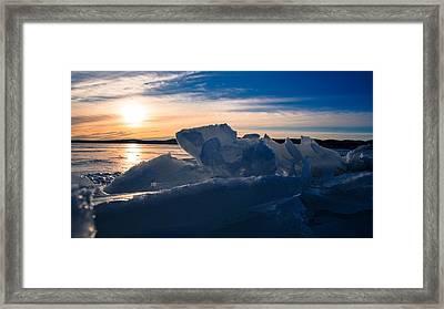 Angostura Ice Framed Print