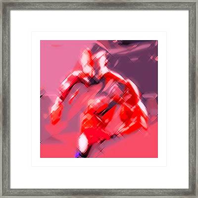 Angry Boxer Framed Print by Ck Gandhi