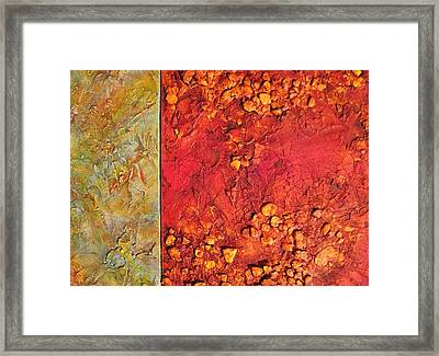Angry Planet Framed Print