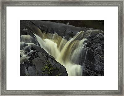Angry Whetstone Brook Framed Print
