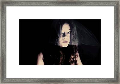 Framed Print featuring the photograph Angry With You  by Jessica Shelton