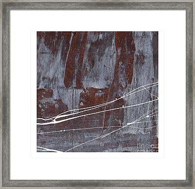 Angst I Framed Print by Paul Davenport