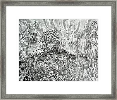 Angst Ridden Framed Print