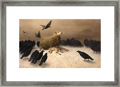 Anguish Framed Print by Mountain Dreams