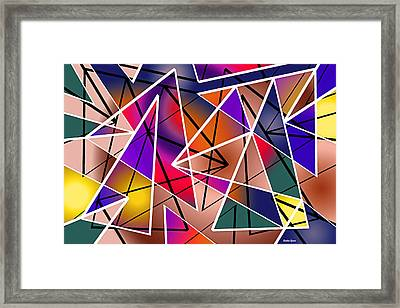 Angular Framed Print by Stephen Younts