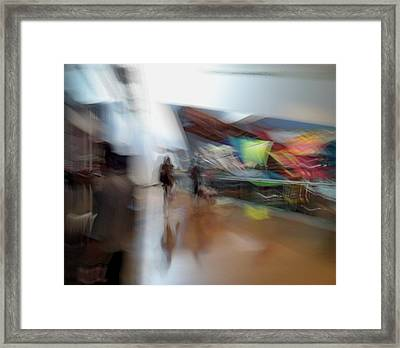 Framed Print featuring the photograph Angularity by Alex Lapidus