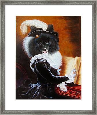 Ani Framed Print by Anny Huang