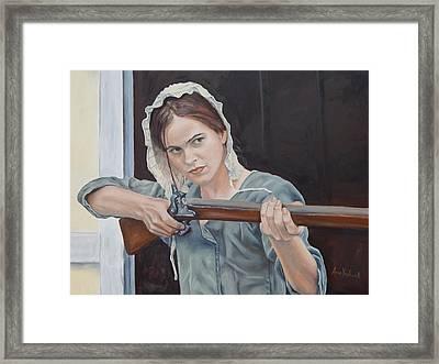 Ani Get Your Gun Framed Print
