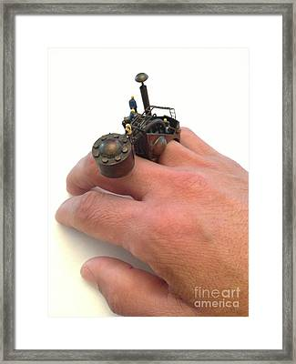 Anillo Framed Print by Julio Lopez