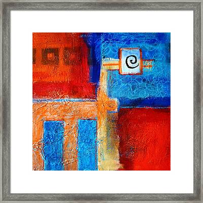 Animal Art Framed Print by Nancy Merkle