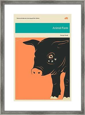 Animal Farm Framed Print by Jazzberry Blue