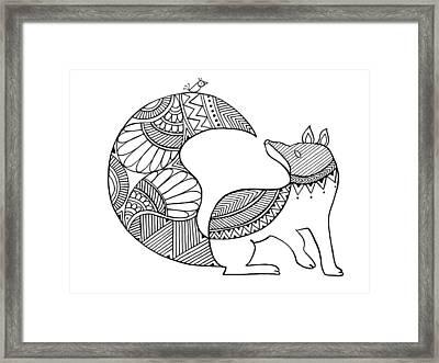 Animal Fox 2 Framed Print