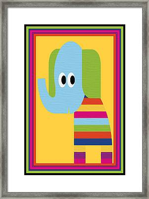 Animal Series 8 Framed Print by Angelina Vick