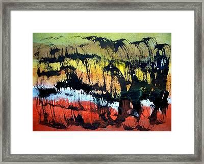 Animal World 121005-1 Framed Print by Aquira Kusume