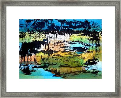 Animal World 121006-2 Framed Print by Aquira Kusume