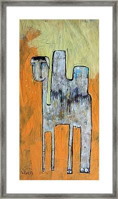 Animalia Camelus 1 Framed Print by Mark M  Mellon