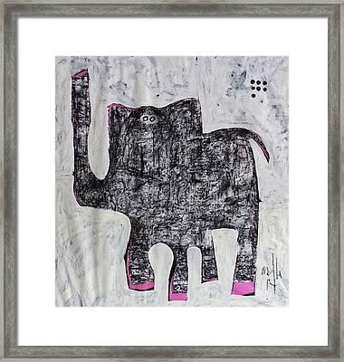 Animalia Elephanti No. 1 Framed Print by Mark M  Mellon
