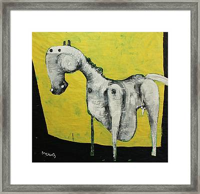 Animalia  Equos No 2 Framed Print by Mark M  Mellon