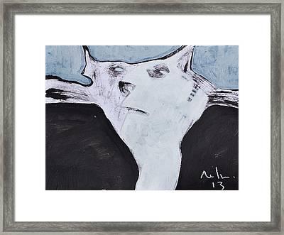 Animalia Feles No. 5 Framed Print by Mark M  Mellon