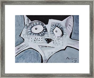 Animalia Feles No. 6 Framed Print by Mark M  Mellon