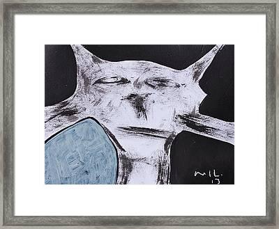 Animalia Feles No. 7 Framed Print by Mark M  Mellon