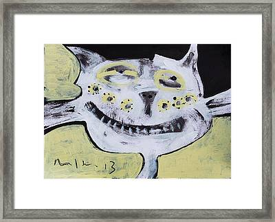 Animalia Feles No. 8  Framed Print by Mark M  Mellon