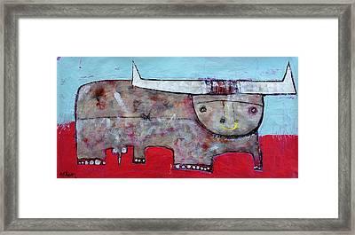 Animalia  Taurus 1 Framed Print