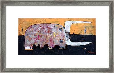 Animalia  Taurus 1 Framed Print by Mark M  Mellon
