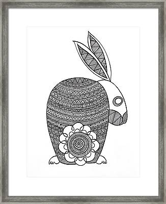 Animals Bunny Framed Print by Neeti Goswami