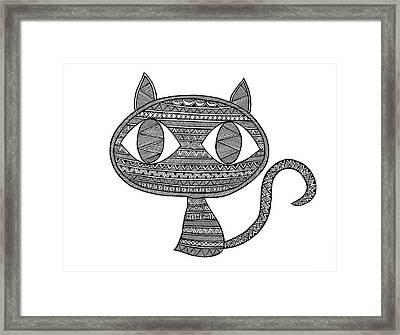 Animals Cat 2 Framed Print