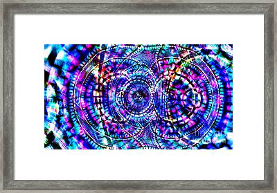 Animus Firewaters Essence Of Light Framed Print by Aeres Vistaas