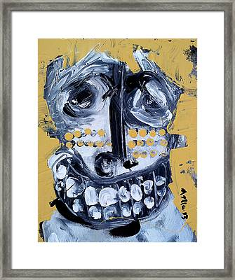 Animus No 8 Framed Print by Mark M  Mellon