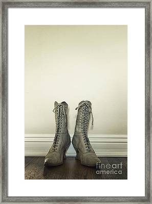 Ankle Boots Framed Print by Margie Hurwich