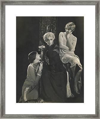 Ann Andrews Framed Print
