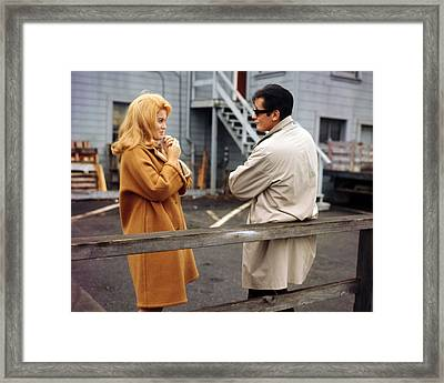 Ann-margret In Once A Thief  Framed Print by Silver Screen