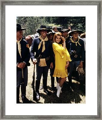 Ann-margret In Stagecoach  Framed Print
