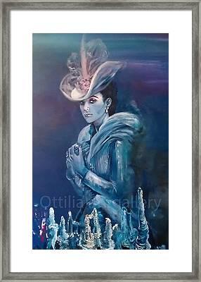Anna Karenina Framed Print by Ottilia Zakany